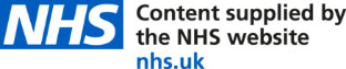 Content supplies by the NHS website